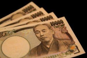 3枚の1万円札