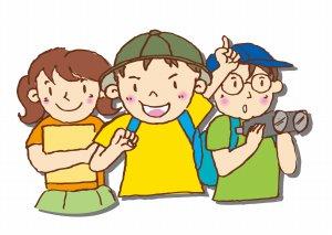 3人組の子供