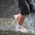 雨の水たまり