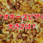 アオキーズピザの大きさは?S・M・Lサイズは何人分?