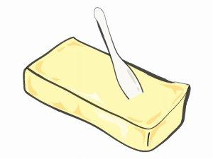 バターとスプーン