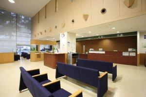 総合病院の受付窓口