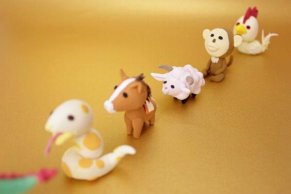 干支の動物レース
