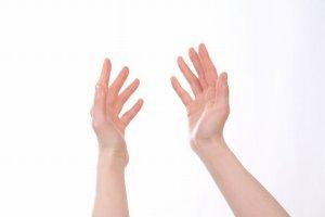 左右の手の指