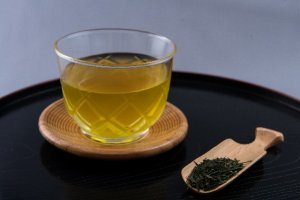 冷たい日本茶