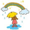 雨の晴れ間