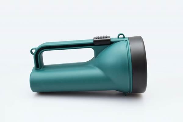 緑色の懐中電灯
