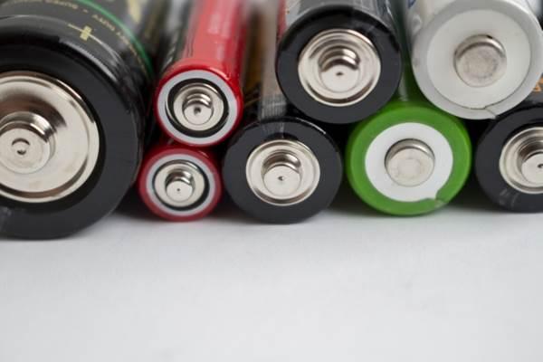 いろんな種類の乾電池