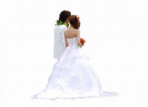 花嫁と新郎