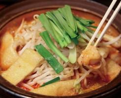 土鍋で煮たキムチ鍋