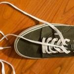靴紐がほどけない結び方@3年で1回もほどけなかったコツ!