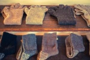 色んな種類の靴下