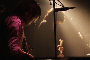 ライブハウスのミュージシャン