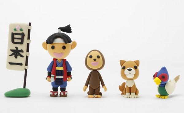 桃太郎とお供たち