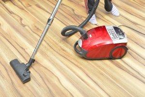 赤い掃除機