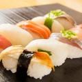 盛られた寿司