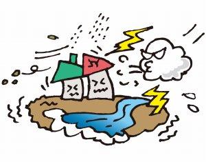 台風による災害