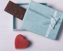 箱とチョコレート