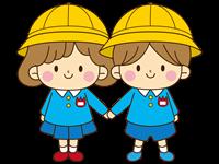 幼稚園児の男子と女子